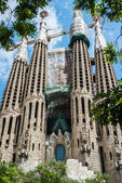 La Sagrada Familia designed — Stock Photo