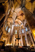 Cathedral of Saint Eulalia — Stock Photo