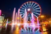Ferris wheel in Kharkiv — Stock Photo