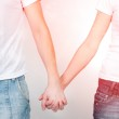 Holding hands — Stock Photo #40014171