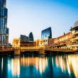 Dubai Mall and the Dubai Fountain — Stock Photo