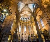 собор святой эулалии — Стоковое фото