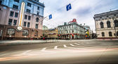 Constitution Square in Kharkiv — Stock Photo