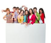 Young group of people — Stock Photo