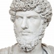 An ancient statue of marble — Stock Photo #9409867