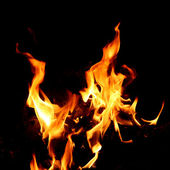 Red Fire and Flame — Stock Photo