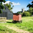 Royalty-Free Stock Photo: Village scene - Chawton Hampshire UK
