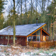 Cabin in Sherwood Forest — Stock Photo
