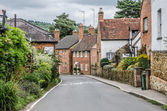 Road going into Shere Village — Stock Photo