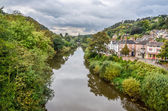 The river Severn at Ironbridge, Shropshire — Foto Stock