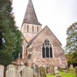 Shere village Church Surrey England — Stock Photo