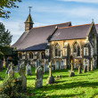 Village church Milford in Surrey — Stock Photo #35356781