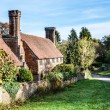 Old cottage with lovely chimneys, Milford Surrey, England — Stock Photo #35358203