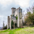 Stock Photo: Folly overlooking Slindon West Sussex