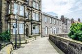 Street in Berwick-upon Tweed including the Custom House — Stock fotografie