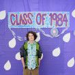 Class of 1984 Graduation — Stock Photo #4629597