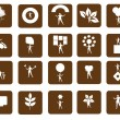 Web icon set vector — Stock Vector