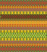 яркие ацтеков узор вектор — Cтоковый вектор