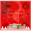 Set of banner for christmas for your website, vector — Stock Vector