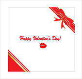 Valentine's Day card vector — Stockvektor