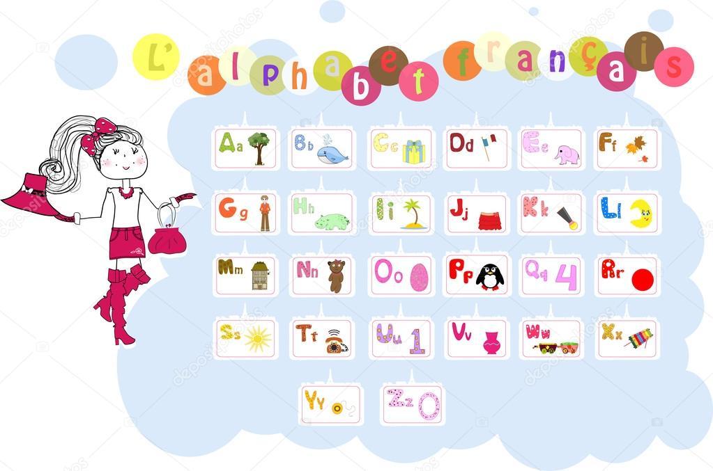 Télécharger - Français alphabet illustré / l'alphabet francais ...