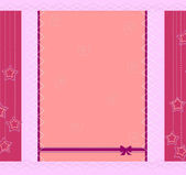Diseño de marco de plantillas para tarjetas de felicitación — Vector de stock