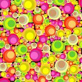 Circles seamless pattern — Stock Vector