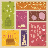 Happy birthday background — Stock Vector