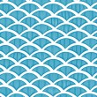 Stock Vector: Seamless waves pattern