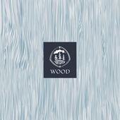 Старинный деревянный фон — Cтоковый вектор
