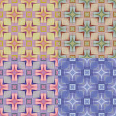 Seamless pattern for a fabric, papers, tiles. — Stock Vector