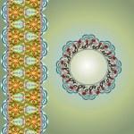 Ornamental round lace — Stock Vector #13799690
