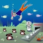 ������, ������: Pearl diver