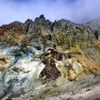 Stock Photo: Mountain landscape of Kamchatka