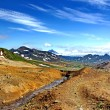Beautiful landscape in the mountains of Kamchatka — Stock Photo