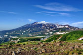 Beautiful landscape in the mountains of Kamchatka — Foto Stock