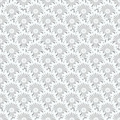 Seamless pattern. Floral stylish background. Vector repeating texture — Stock Vector