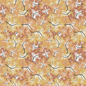 A seamless pattern with leaf — Stock Photo