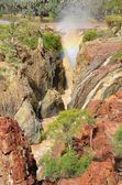 Waterfall at Epupa Falls, Namibia — Stock Photo