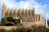 Katholische Kathedarale in Palma — Stock Photo