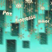 Addobbi natalizi in tonalità verde — Foto Stock