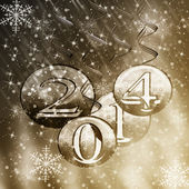New Year and Christmas Backgrounds — Stock Photo