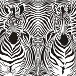Zebra pattern background — Stock Vector #9341960