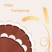 Vector thanksgiving day background — Stock Vector