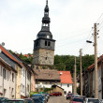 Kirche von Bad Frankenhausen — Stock Photo