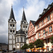 Kirchplatz in Boppard — Stock Photo #40273641