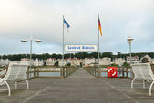Bansin seaside resort — Stock Photo