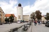 Platz vor dem Frauenturm — Stock Photo