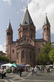 Domplatz Mainz — Stock Photo