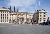 Hradschinplatz — Stock Photo